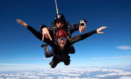Experience: Tandem Skydiving Experience For just: £175 0