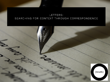 Letters: A Correspondence