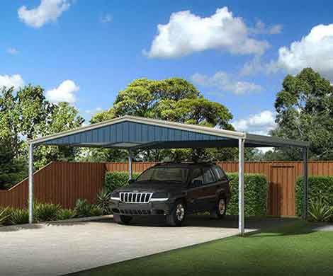 we offer large range of plans and designs that suits the needs of your property we build both single and double carports and use the first grade steel to