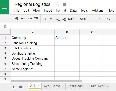 Google Sheets Consolidating Data From Multiple Tabs With Sumif