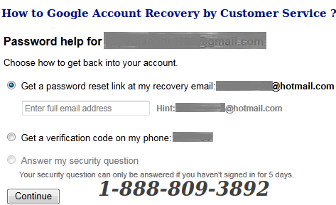 Good How To Fix Google Account Recovery Issue Support Number For Instant HelpDesk Photo Gallery