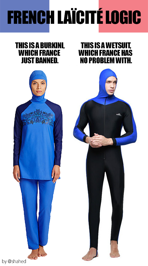as expected france s highest court declared a burkini ban illegal