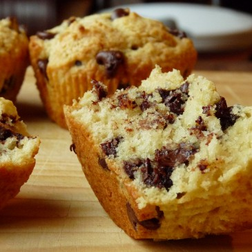 Classic Chocolate Chip Muffins