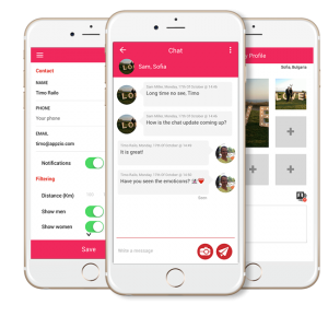 Appzio chat and features