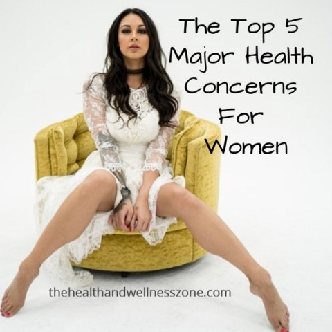 The Top 5 Major Health Concerns For Women