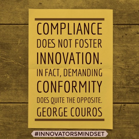 compliance does not foster innovation
