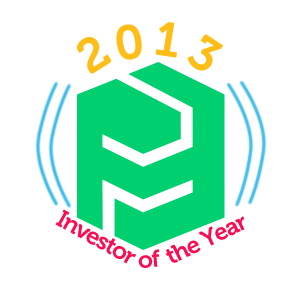 2013 FundedByMe Investor of the Year