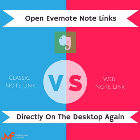 Evernote Classic ro Web Note Links