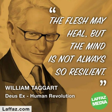 The Flesh May Heal But The Mind Is Not Always So Resilient