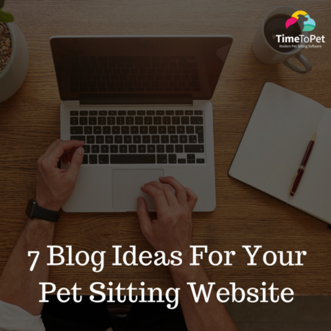 7 Blog Ideas For Your Pet Sitting Website