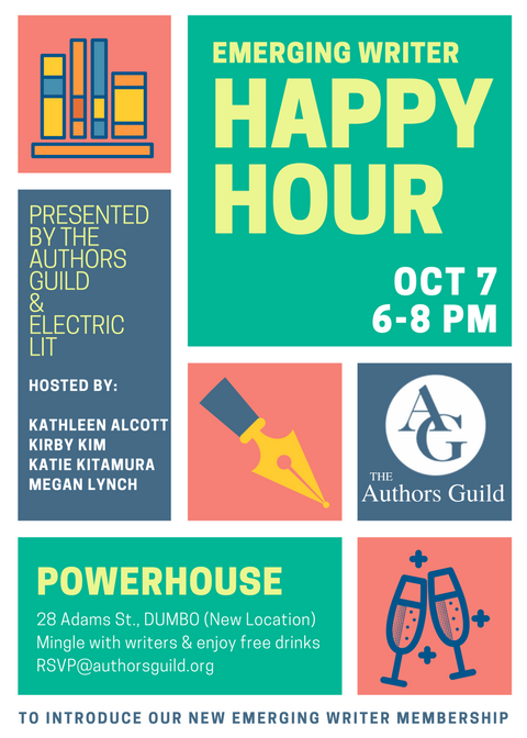 Emerging Writer Happy Hour Electric Literature
