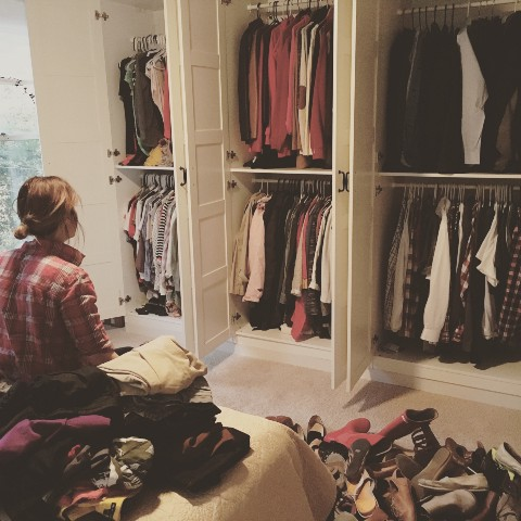 Archive of stories about capsule wardrobe medium for Big closet stories