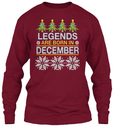 Womens Happy Birthday Anniversary Party T Shirts Long Sleeve Shirt Hoodies Tank Tops Legends Queens Kings December Tshirts For Christmas Gifts To Men