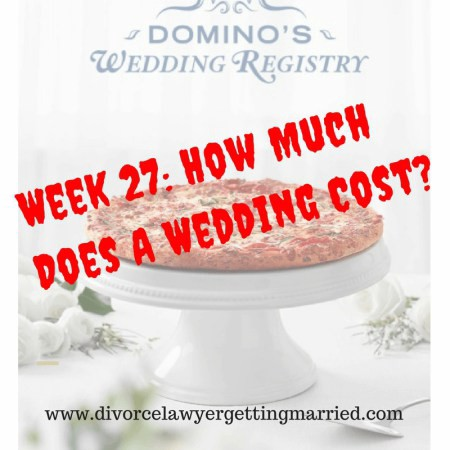 How Much Is A Wedding.Week 27 How Much Does A Wedding Cost Morghan Martell