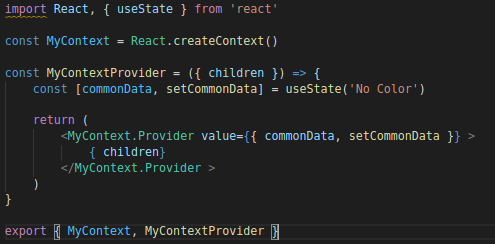 A Quick Guide To The React Context API