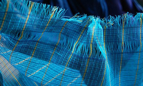 the light gossamer touch of the kota doria fabric will remind you of a delicate web itu0027s a unique and an almost transparent weave which is woven - Gossamer Fabric