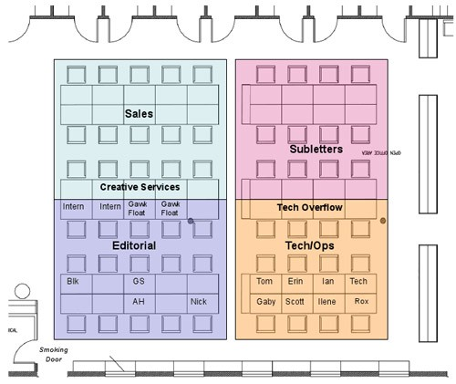 the office floor plan. The Office Seating Chart Floor Plan