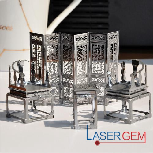 Gem Laser Metal Laser Cutting Machine Dancing On The Plate