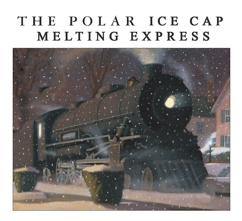 Ice cap melting book