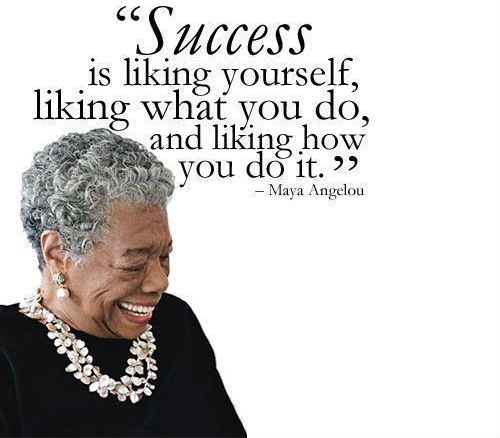 "harlem s a angelou ""success is liking yourself  harlem s a angelou ""success is liking yourself"""