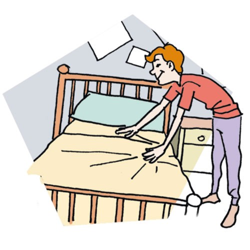 6 reasons why making your bed is so important joel stockstill rh medium com child making bed clipart child making bed clipart