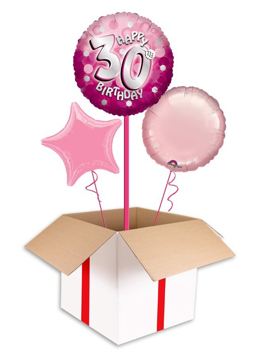 Create Custom Helium Balloons And Send In A Box For All Occasions We Specialise Printed Corporate Personalised As Well