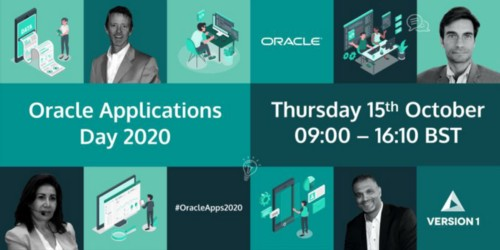 Watch Sessions from Version 1's Oracle Applications Day 2020 to Expand your Knowledge