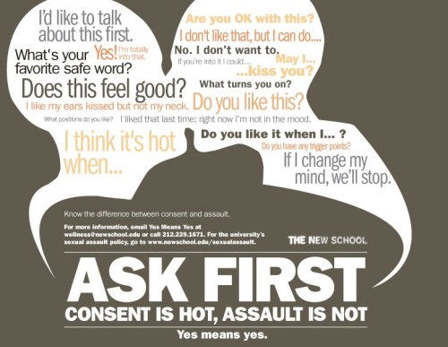 Stop sex and sexual violence in advertising