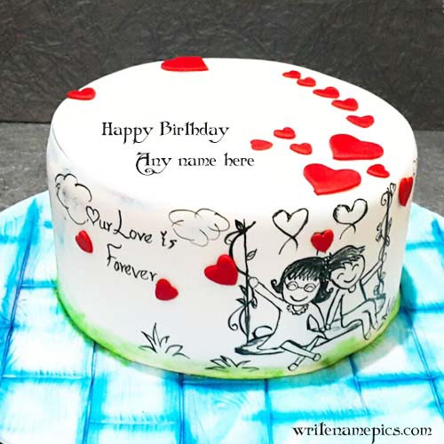 Love Birthday Cake Images With Name Happy And Photo Free Download Forwritenamepics
