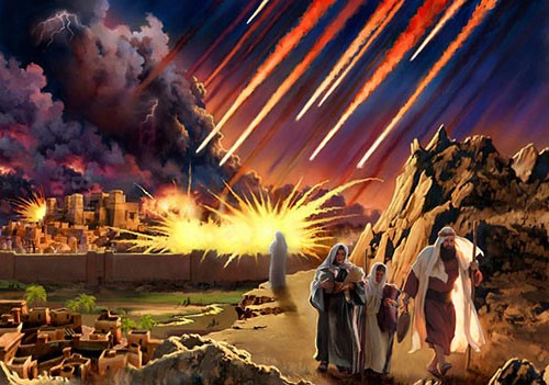 Sodom was not destroyed for homosexuality