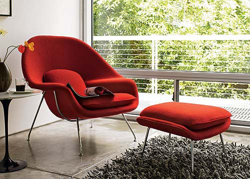 The Womb Chair Was Exclusively Designed On The Request Of Florence Knoll By  Eero Saarinen And It Has Gone Down As One Of The Icons Of Modernism.