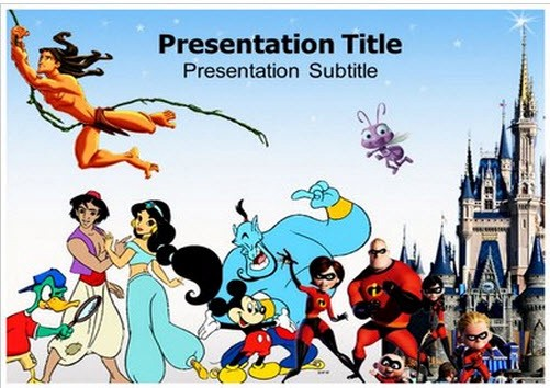 Have fun presenting with the disney powerpoint template toneelgroepblik Gallery