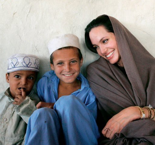 Image result for angelina jolie humanitarian