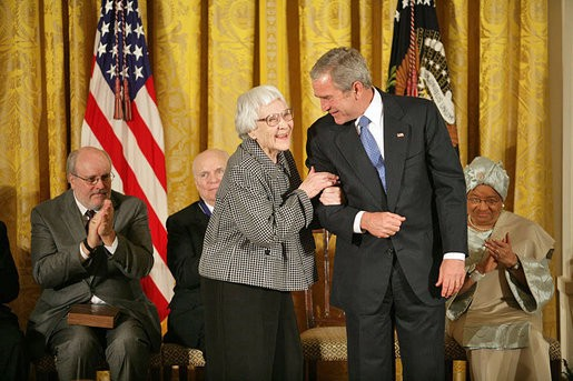 "thoughts on go set a watchman essays and non fiction medium ""harper lee medal"" by white house photo by eric draper white house photo by eric draper via 1 licensed under public via"