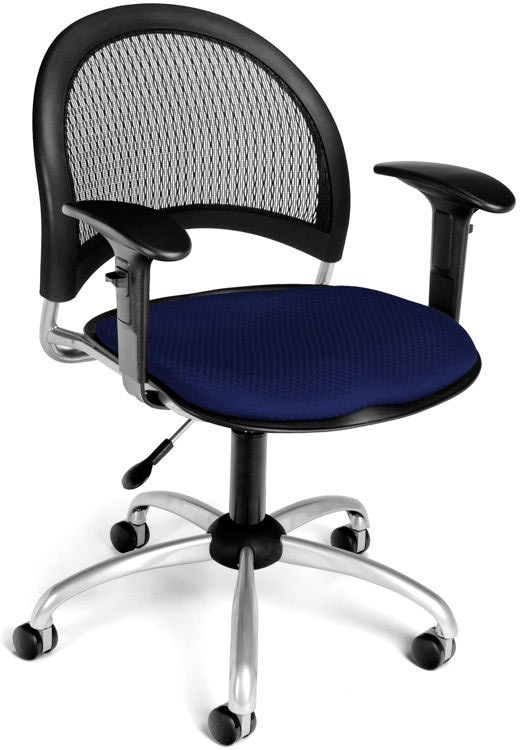 Moon Swivel Chair With Arms By OFM Product Description:
