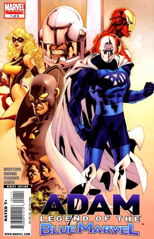 blue marvel is the first black superhero in the marvel universe
