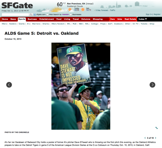 ALDS Game 5: Detroit vs. Oakland photo album