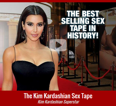 For sex Kim free tape kardashian
