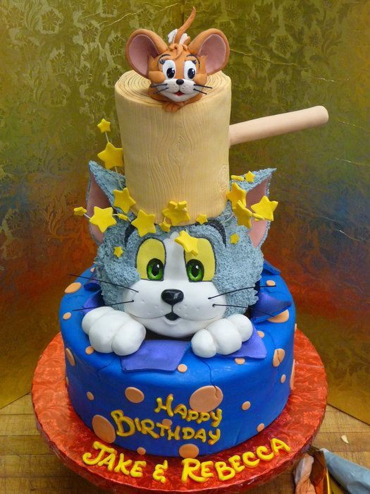Tom Jerry Cake With Vizagfood Vizag Food Medium