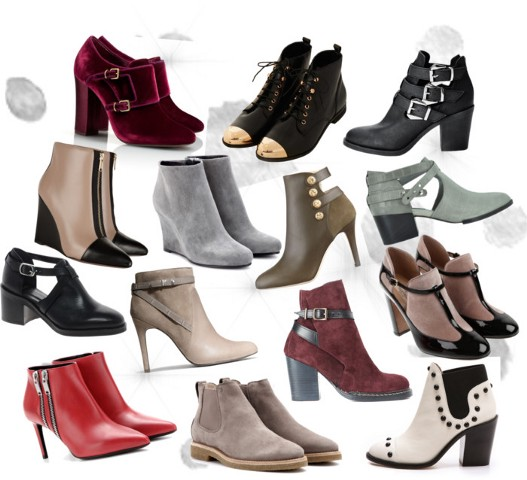 Ankle booties for winter 2013