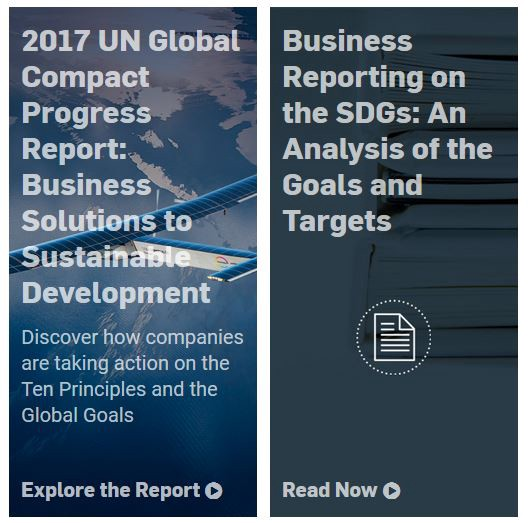 progress on reporting latest from the un global compact