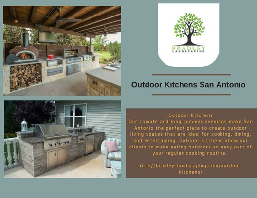 Outdoor Kitchens San Antonio By Bradley Landscaping