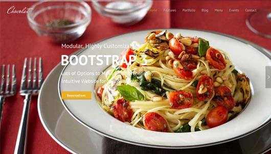 30 Restaurant And Cafe Templates Themes 2018 Krissanawat