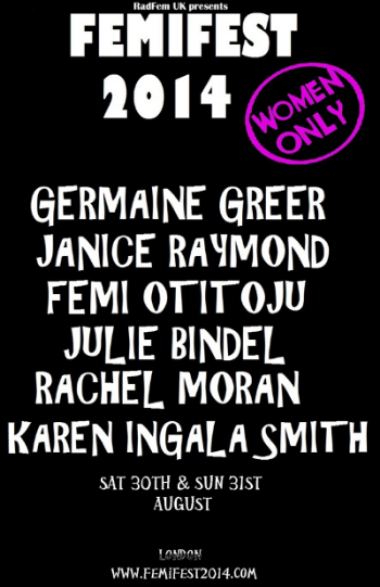 radical feminist conference london 2014