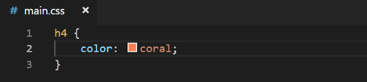 Some css code