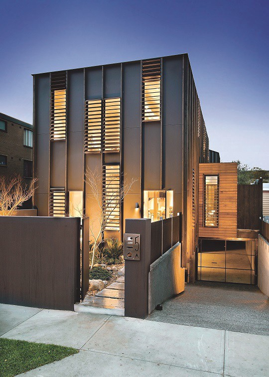 Adrian Liddell Has Created Some Of Melbourneu0027s Most Inspiring Homes In  South Yarrau0027s Moffat Street.