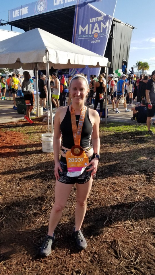 Race Report: Miami Half Marathon