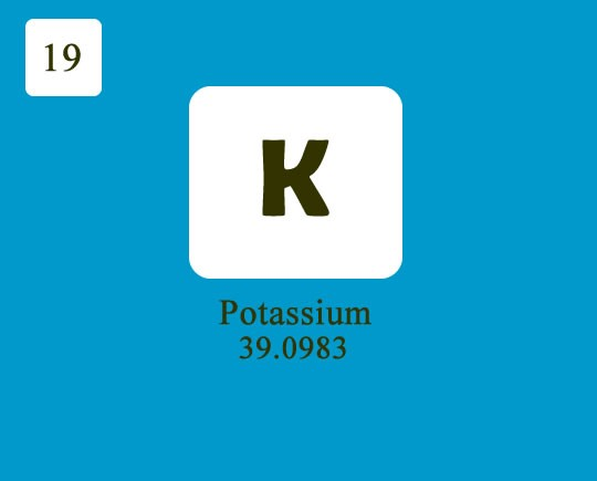 About element potassium worldofchemicals medium potassium is a chemical compound with atomic number 19 and chemical symbol as k it is the element of s block and group 1 of the periodic table urtaz Gallery