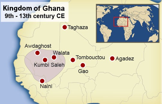 The Kingdom of Wagadu — or Ghana — at its height