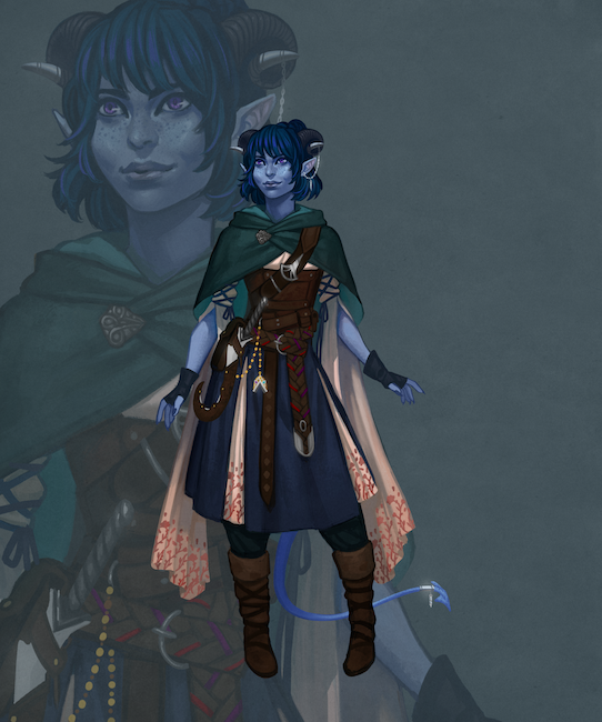 Critical Role My Therapist The Tiefling Cleric Critical Feelings